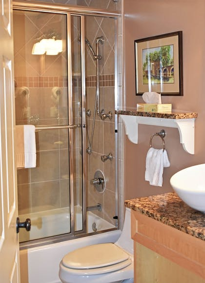 Bathroom | The Inlet Sports Lodge