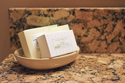 Bathroom Amenities | The Inlet Sports Lodge