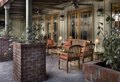 Terrace/Patio | The Inlet Sports Lodge