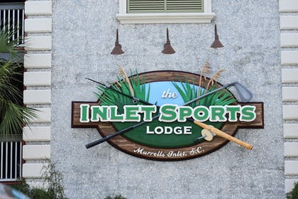 Exterior detail | The Inlet Sports Lodge