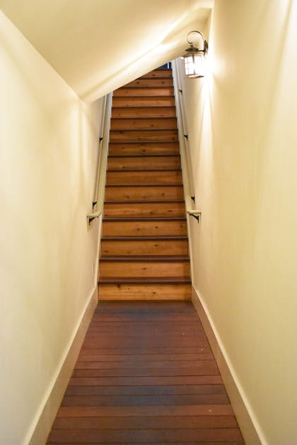 Staircase | The Inlet Sports Lodge