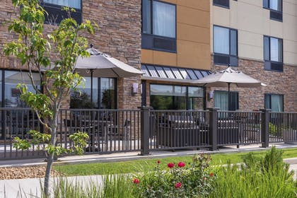 Terrace/Patio | TownePlace Suites Fort Wayne North