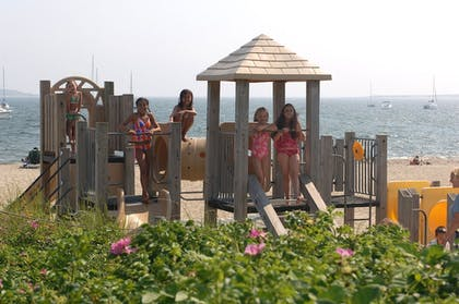 Childrens Play Area - Outdoor | Green Harbor Resort