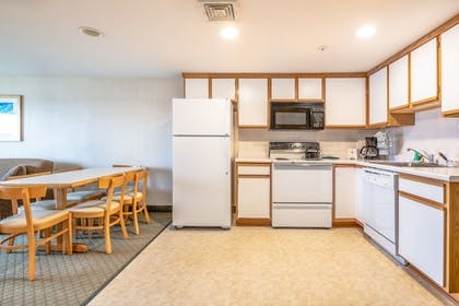 In-Room Kitchen | Green Harbor Resort
