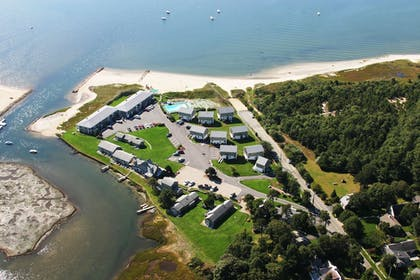 Aerial View | Green Harbor Resort