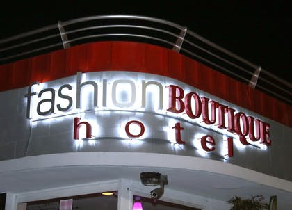 Hotel Front - Evening/Night | Fashion Boutique Hotel