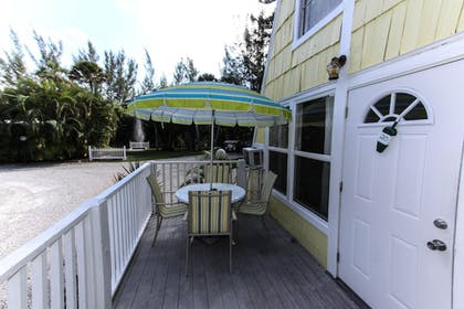 Balcony | Anchor Inn and Cottages