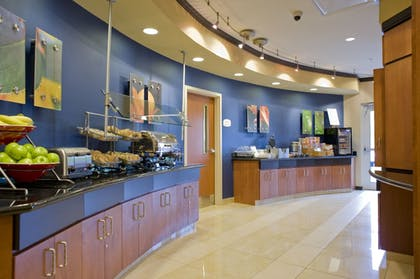 Breakfast Area | Fairfield Inn & Suites Columbus