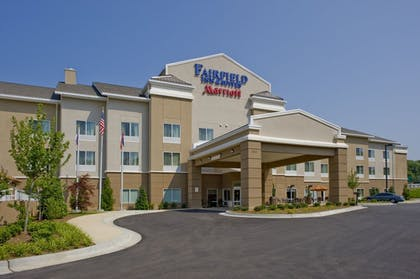 Hotel Front | Fairfield Inn & Suites Columbus