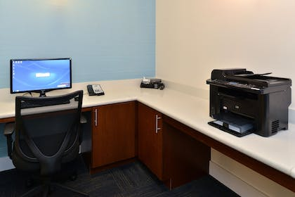 Business Center | Holiday Inn Express Hotel & Suites Terre Haute