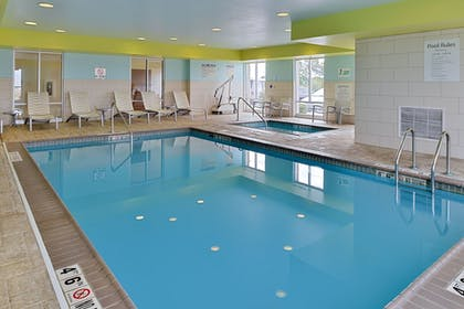 Pool | Holiday Inn Express Hotel & Suites Terre Haute