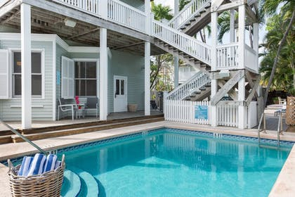 Outdoor Pool | The Southernmost Inn-Adults Only