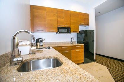 In-Room Kitchen |  | Pointe Plaza Hotel
