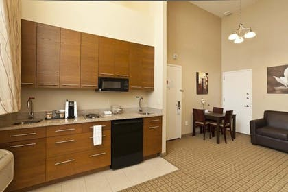 In-Room Kitchenette |  | Pointe Plaza Hotel