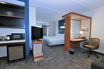 Guestroom | SpringHill Suites by Marriott San Antonio Alamo Plaza/Convention Cente