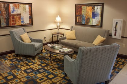 Lobby Sitting Area | Holiday Inn Express & Suites Youngstown West - Austintown
