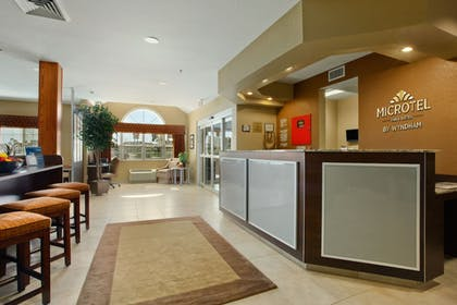 Reception | Microtel Inn & Suites by Wyndham Dickinson