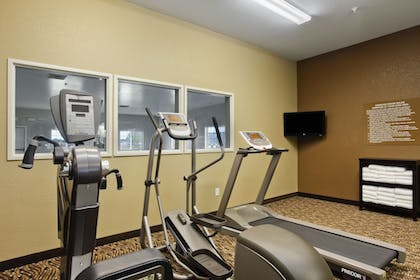 Fitness Facility | Microtel Inn & Suites by Wyndham Dickinson