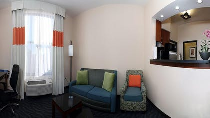 Living Area | Fairfield Inn & Suites Alamogordo