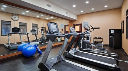 Fitness Facility | Best Western Premier KC Speedway Inn & Suites