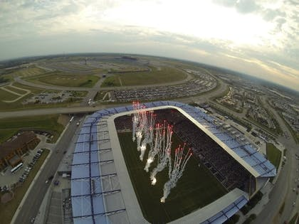 Aerial View | Best Western Premier KC Speedway Inn & Suites