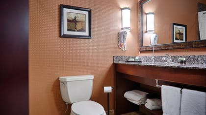 Bathroom | Best Western Premier KC Speedway Inn & Suites
