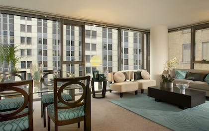 | One Bedroom Furnished Apartment | Oakwood 200 Squared