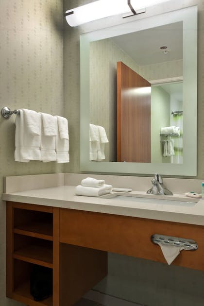 Bathroom | SpringHill Suites by Marriott Lafayette South at River Ranch