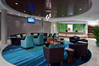 Lobby | SpringHill Suites by Marriott Lafayette South at River Ranch