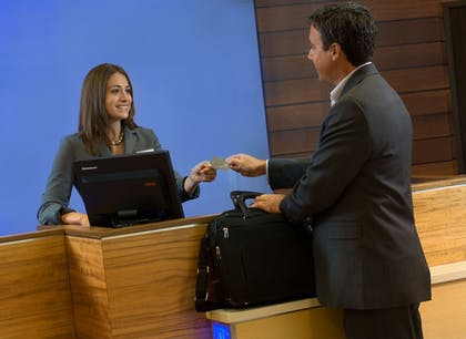Check-in/Check-out Kiosk | Fairfield Inn & Suites Baltimore BWI Airport
