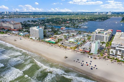 Aerial View | Hollywood Beachside Boutique Suites