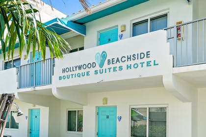 Front of Property | Hollywood Beachside Boutique Suites