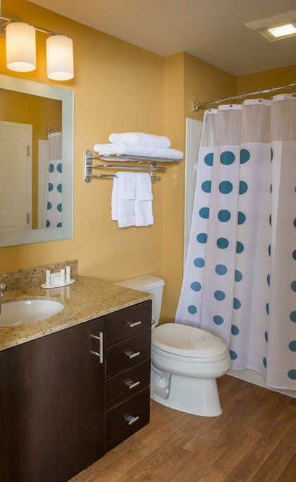 Bathroom | TownePlace Suites by Marriott Baton Rouge Gonzales