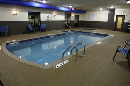 Pool | Holiday Inn Express & Suites Huntsville Airport