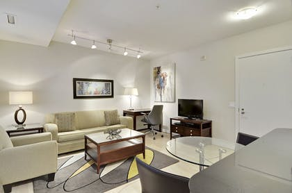 Living Area | The Woodward Building