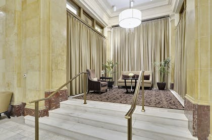 Reception | The Woodward Building