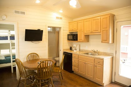 In-Room Kitchen | Indiana Beach Accommodations
