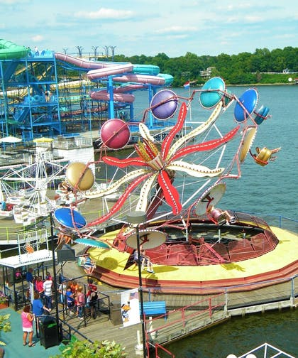 Childrens Play Area - Outdoor | Indiana Beach Accommodations