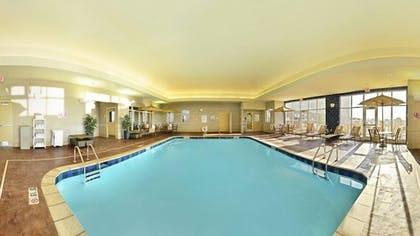 Indoor Pool | Holiday Inn Express and Suites Williston