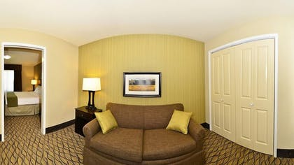 Living Area | Holiday Inn Express and Suites Williston