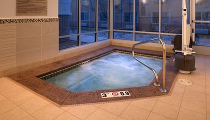 Indoor Spa Tub | SpringHill Suites by Marriott Salt Lake City Draper