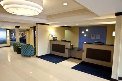 Lobby | Holiday Inn Express Hotel & Suites Lansing-Dimondale