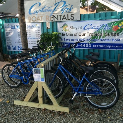 Bicycling | Captain Pips Marina & Hideaway