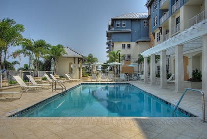 Outdoor Pool | Harborside Suites at Little Harbor