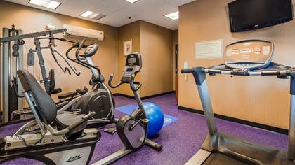Fitness Facility | Best Western Plus Carousel Inn & Suites