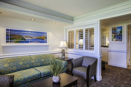 Living Area | Shutters on the Banks
