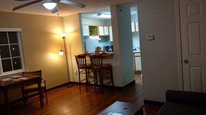 Living Area | Affordable Suites of America