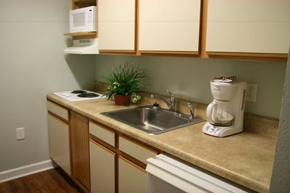 In-Room Kitchen | Affordable Suites of America