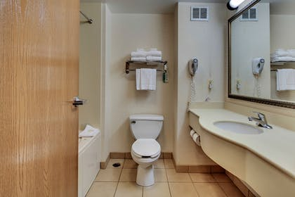Bathroom | Comfort Inn & Suites Edgewood - Aberdeen
