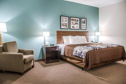 Guestroom | Sleep Inn And Suites Center